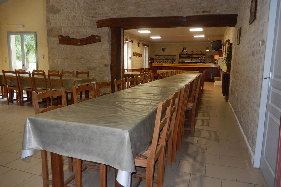 Salle reception repas chasse
